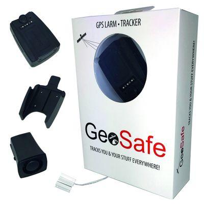 GeoSafe Alarm- und Verfolgungstracker Diebstahl- und Einbruchalarm SMS Benachrichtigung GPS