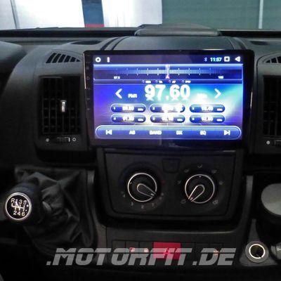 """Radio und Navigationssystem ESX Vision VN1015-MA 10.1"""" für Wohnmobile inkl. Adapterrahmen – Bild 1"""