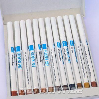 BAO FLEX-PEN 202, Serie A 12 Stifte für Korrekturen an Holzoberflächen FlexPen – Bild 1