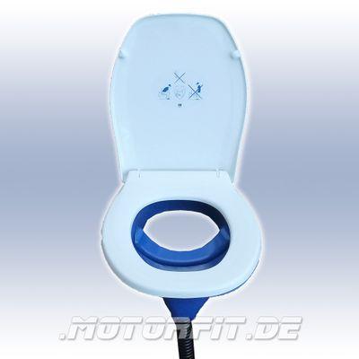 Trenntoiletten-Einsatz Separett Privy 501 mit Sitz/Brillenkombi, weiß, vormontiert – Bild 1