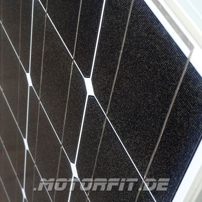 220W / 230W (12V) Solar Spar Set Solar speziell für Kastenfahrzeuge! KOMPLETTSET Solaranlage 220 Watt Haltewinkel – Bild 2