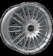 Borbet 4x Leichtmetallfelge CW3 7,5 x 18 Zoll für Mercedes Benz X-Klasse sterling silver Radlast 1250 LK114 Alufelge Alufelgen silber Felgensatz