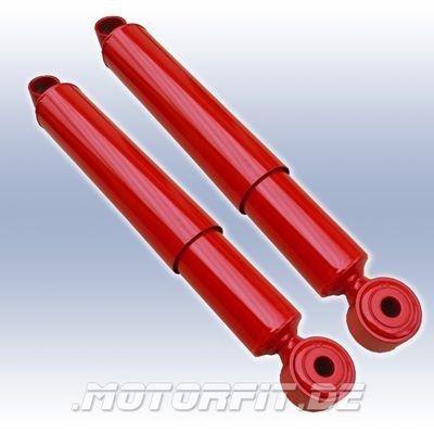 HD Stoßdämpfer für Nissan Navara D23 NP300 hinten - Set 2 Stück - mit einstellbarer Zug/Druckstufe – Bild 1