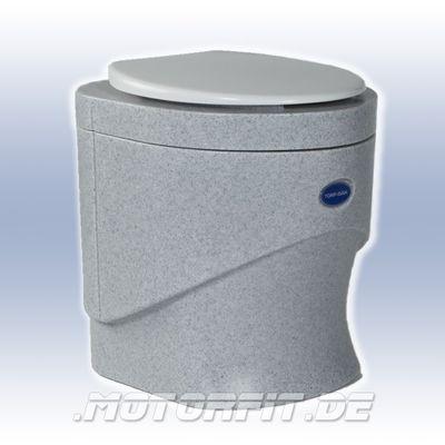 TrockenTrennToilette Separett Weekend 7010 Granit Komplett, mit Sichtschutz 12V 210 mA 2W – Bild 1