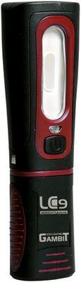 IWETEC LC9 LED Werkstattleuchte - Magnet-Clip und Boden - schwenkbar drehbar - 280 Lumen - inkl. Akku