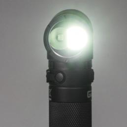IWETEC LCL LED Taschenlampe - Magnet-Fuß - Winkeltaschenlampe - 300 Lumen - UV Licht - inkl. Akku – Bild 3