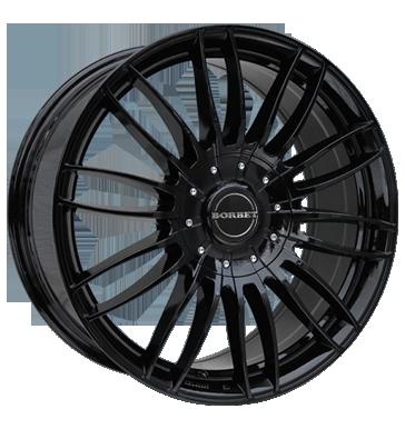 Borbet 4x Leichtmetallfelge CW3 7,5 x 17 Zoll für VW Amarok black glossy Radlast 1255 LK120 Alufelge Alufelgen schwarz Felgensatz