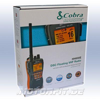 Cobra UKW GPS ATIS Sprechfunk MR HH600 Seefunk Handfunkgerät - schwimmfähig - Bluetooth DSC 1/3/6 Watt! – Bild 3