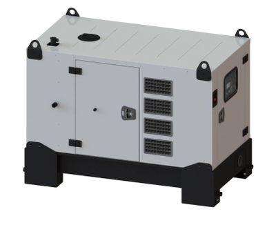 FOGO Mitsubishi Diesel Stromgenerator 10kW 10kVA FDG 10 M Notstromaggregat Power Generator 230/400V – Bild 1