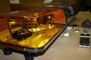 12 Volt 5 DS Leuchtbalken Rundumleuchte Leuchte Warnleuchte – Bild 6