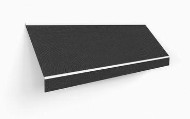 450 x 300 Kassettenmarkise Markise grau UNI mit Funkmotor – Bild 3