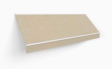450 x 300 Kassettenmarkise Markise beige UNI mit Funkmotor – Bild 3
