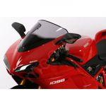 MRA Racingscheibe DUCATI 848 1098 / R / S 1198 / S rauchgrau 001
