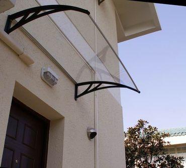 Vordach Überdachung Haustürdach Türdach 1,4 x 1,2 m – Bild 2