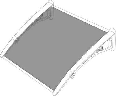 Vordach Überdachung Haustürdach Türdach 1,8 x 1,2 m – Bild 4