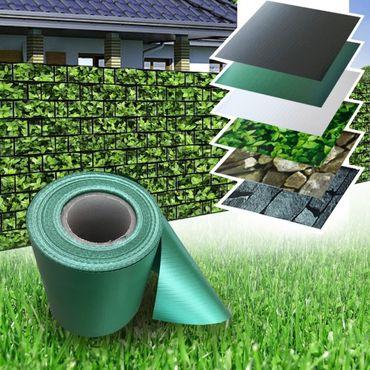 PVC Zaun Sichtschutz Sichtschutzfolie grün – Bild 3