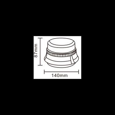 Rundumleuchte 0004 12-LED Magnetfuss 12-V – Bild 3