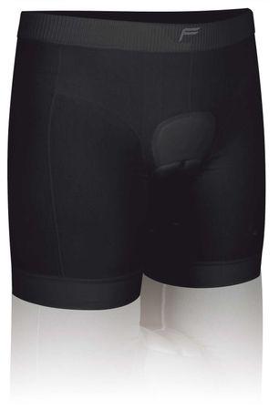 Cycling Boxer sewn pad Woman black – Bild 1