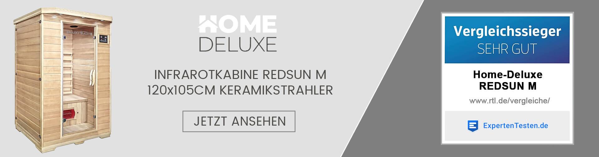 Home Deluxe Infrarotkabine Redsun M