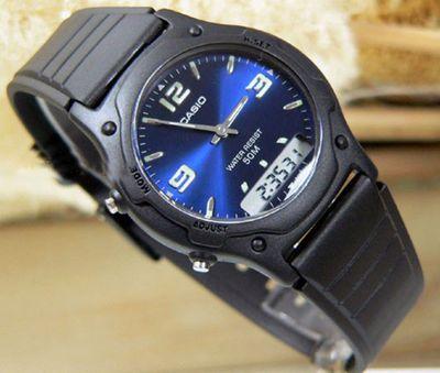 Casio Collection Unisex Armbanduhr analog-digital AW-49HE-2AVEF – Bild 2