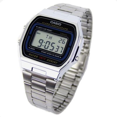 Casio Collection Herrenuhr der Klassiker der 80-er Jahre A164WA-1VES – Bild 1
