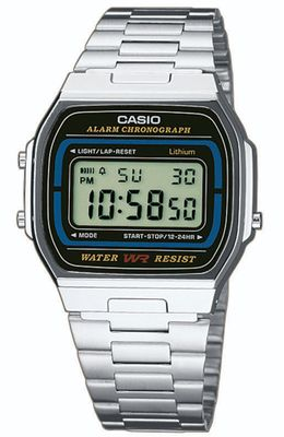 Casio Collection Herrenuhr der Klassiker der 80-er Jahre A164WA-1VES – Bild 4