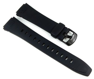 Casio Ersatzband Uhrenarmband Resin schwarz AQ-164, AQ-164W
