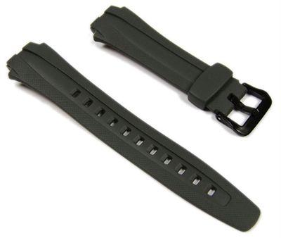 Casio Ersatzband Uhrenarmband Resin grau AQ-160W 10137492 – Bild 1
