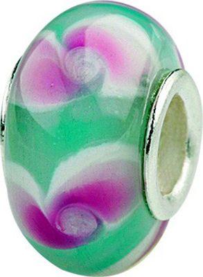 Charlot Borgen Marken Damen Bead Beads Drops Kristallglas Silberkern GPS-24Türkis