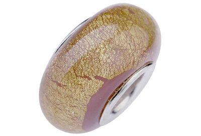 Charlot Borgen Marken Damen Bead Beads Drops Kristallglas Silberkern GPS-14Rosa