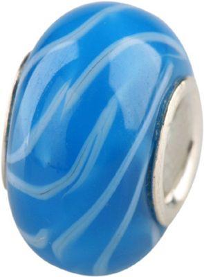 Charlot Borgen Marken Damen Bead Beads Drops Kristallglas Silberkern GPS-13Türkis