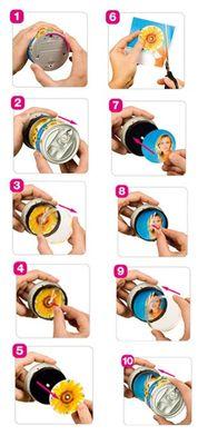 myclock - Love - Zeit aus der Büchse, Foto-Wanduhr Magnetuhr z.B. für Kühlschrank - Top Geschenkidee – Bild 2