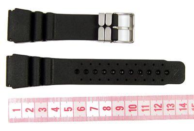 Citizen Uhrenarmband Kautschuk 24mm schwarz 59-L7322 – Bild 2