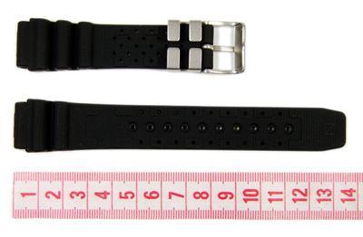 Citizen Marken Ersatzband Uhrenarmband Kautschuk 19mm für Promaster Diver Aqualand AL0020-07E – Bild 2