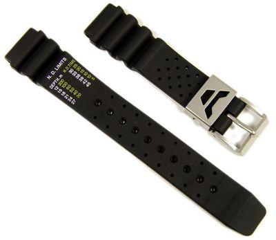 Citizen Marken Ersatzband Uhrenarmband Kautschuk 19mm für Promaster Diver Aqualand AL0020-07E – Bild 1