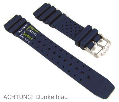 Citizen Promaster Diver Taucherband Kautschuk dunkelblau 20mm NY0040