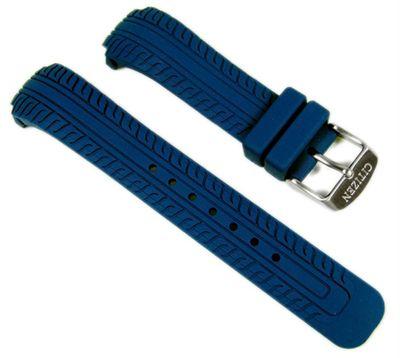 Citizen Uhrenarmband Kautschuk 18mm Blau BM6530-21L s048991