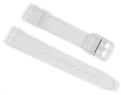 Swatch Gent Ersatzband Uhrenarmband Kunststoff Anstoßbreite 17mm AG0021