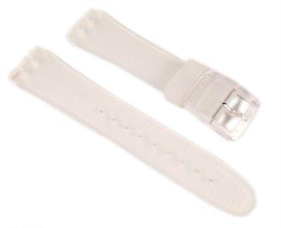 Swatch Skin Classic Uhrenarmband Kunststoff transparent 16mm SFK100
