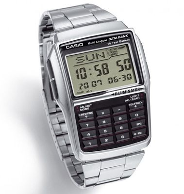 Casio Data Bank Herrenuhr Digitaluhr DBC-32D-1AEF