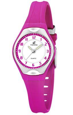 Calypso Kinderuhr Mädchenuhr Armbanduhr Analog Uhr Pink K5163/K