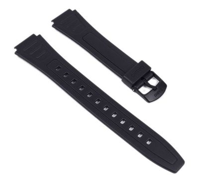 Casio Ersatzband Uhrenarmband Resin schwarz W-800HG W-800H W-800