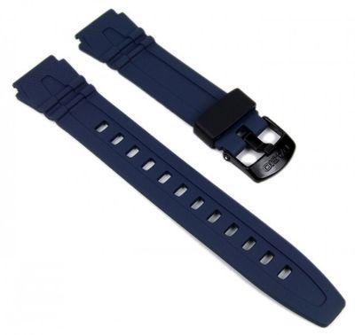 Casio Uhrenarmband Resin Blau HDD-600 HDD-600C