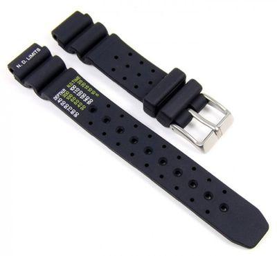Citizen Ersatzband Uhrenarmband Kautschuk Ersatzband 15mm für Damenuhr EP6000-07H – Bild 1