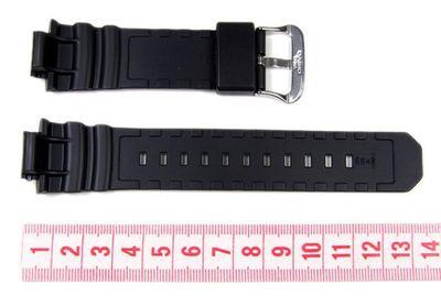 Casio Ersatzband Resin schwarz G-7700 AWG-100 AWG-101 AW-591 10273059 – Bild 2