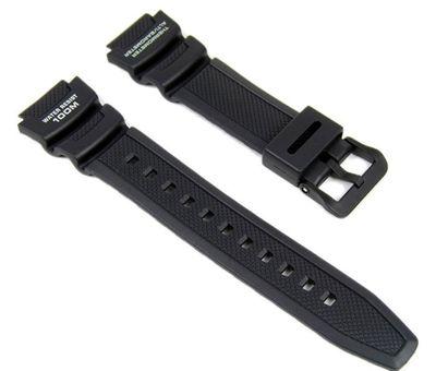 Casio Ersatzband Uhrenarmband Resin Band schwarz SGW-400H SGW-300H