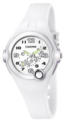 Calypso Damenuhr Armbanduhr weiß K5562/1