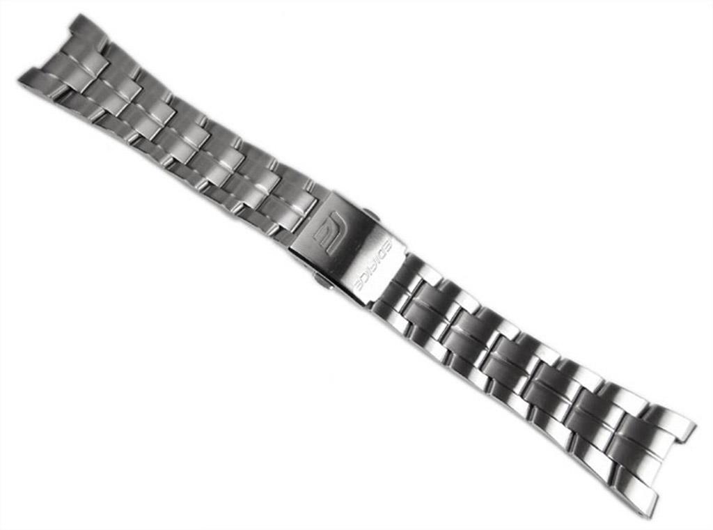 Casio Ersatzband Uhrenarmband Edelstahl EF-126D EF-126 Akcesoria Biżuteria i Zegarki