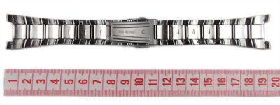 Casio Ersatzband Uhrenarmband Edelstahl EF-126D EF-126 – Bild 3