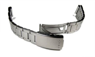 Casio Collection Ersatzband Edelstahl silbern 18mm AW-81D – Bild 2